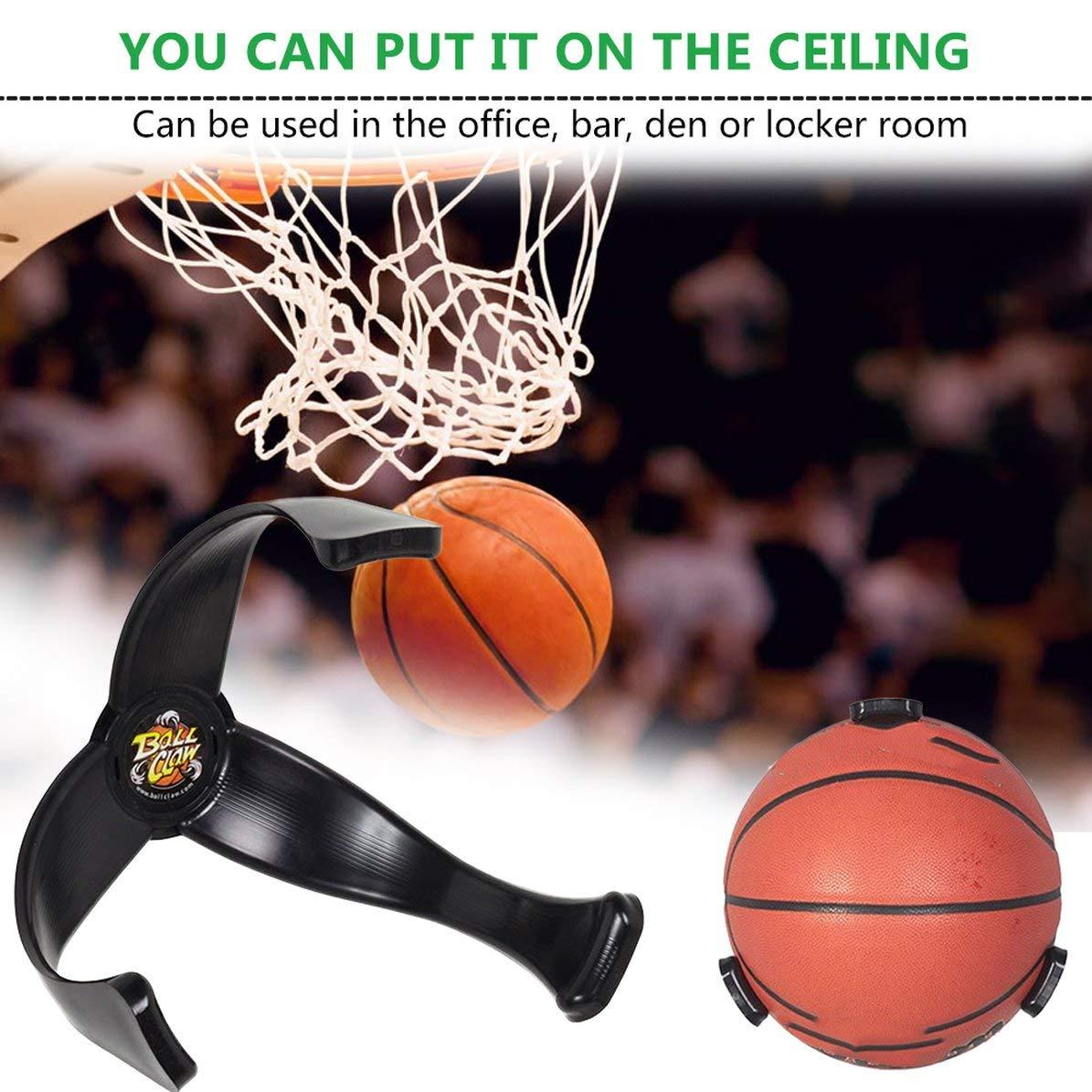 Support de basket-ball de support de basket-ball de support en plastique de support de ballon de football de support de support daffichage daffichage d/économiseur despace pour le d/écor