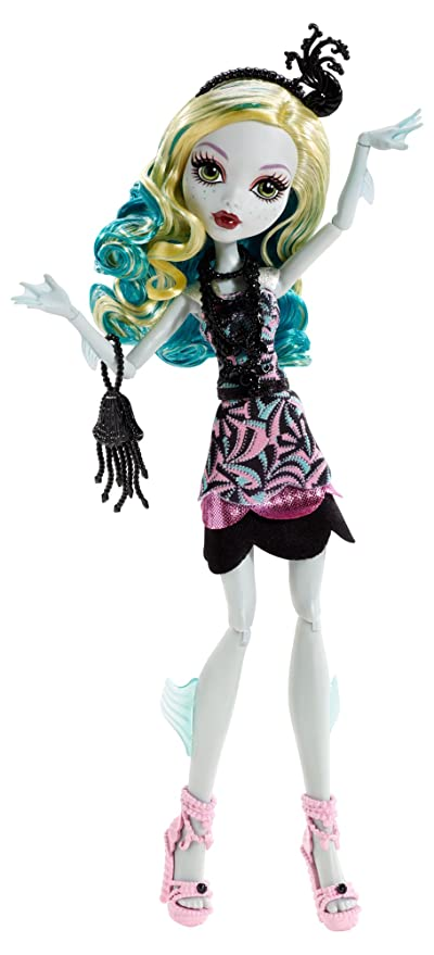 Monster High Frights Camera Action Black Carpet Lagoona Blue Doll