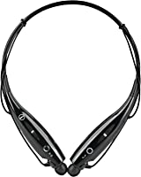 Universal Bluetooth Neckband Headphones S Gear -HV-Digitial 800 Wireless Headset Sweatproof Running Gym Exercise Stereo Earphones Noise Cancelling Earbuds Cordless BK
