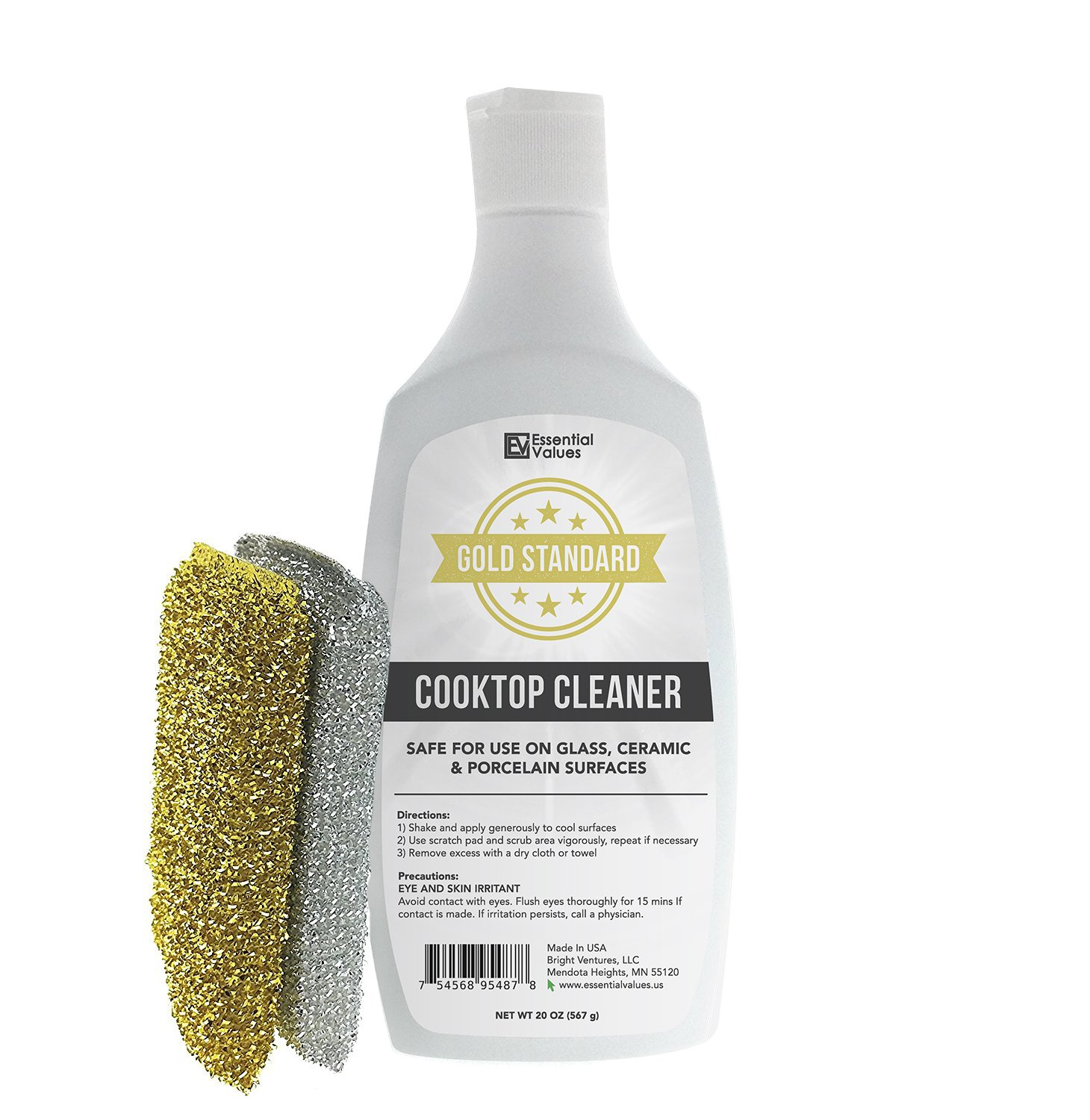 Essential Values Cooktop Cleaner Kit