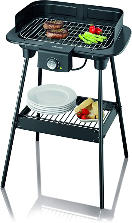 Severin Barbecue sur Pieds HOME S, 2300 W, Pare Vent