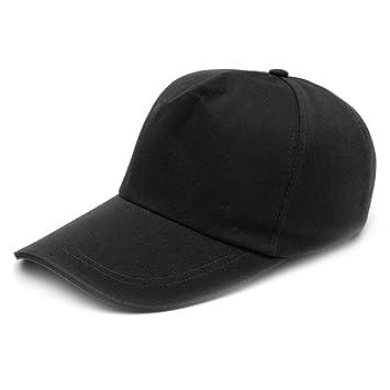 Gorra de béisbol, casco de seguridad de estilo duro, negro: Amazon.es: Bricolaje y herramientas