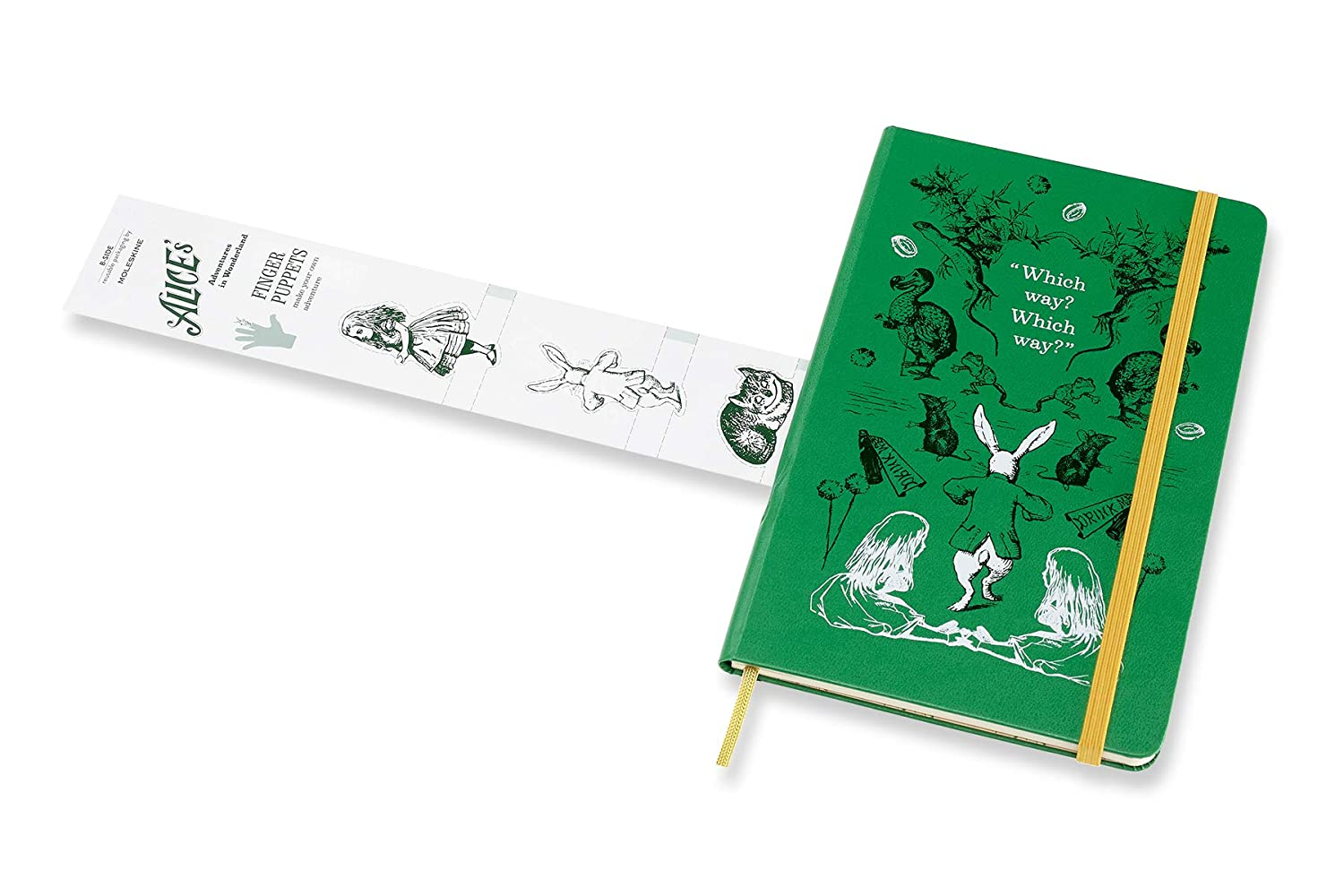 Amazon.com: Moleskine Limited Edition Alice In Wonderland 12 ...