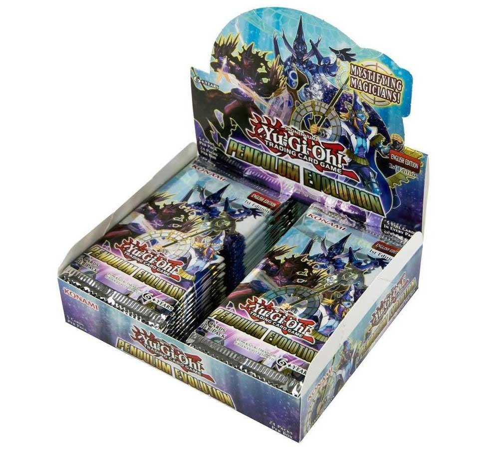Yu-Gi-Oh! CCG: Pendulum Evolution Booster Display Box