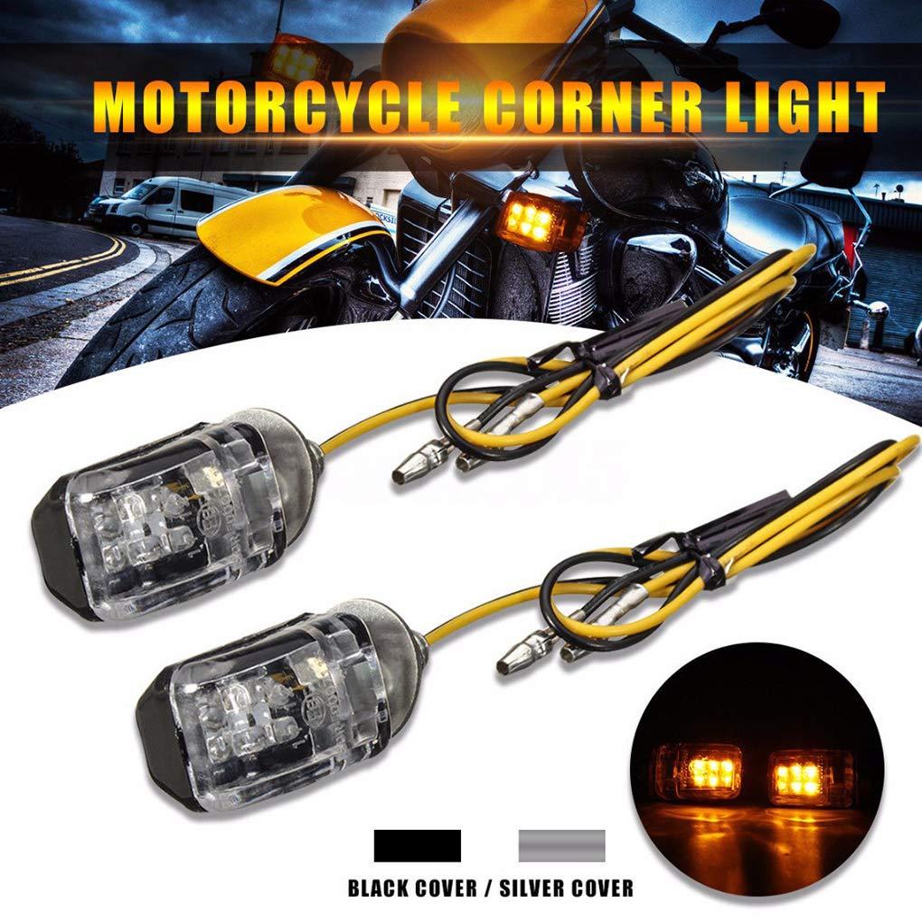 Republe 4pcs//set 6mm Bolt 6 LED Motorcycle Turn Signal Indicator Light Motor Mini Turnning Marker Bulb Motorbike Blinker