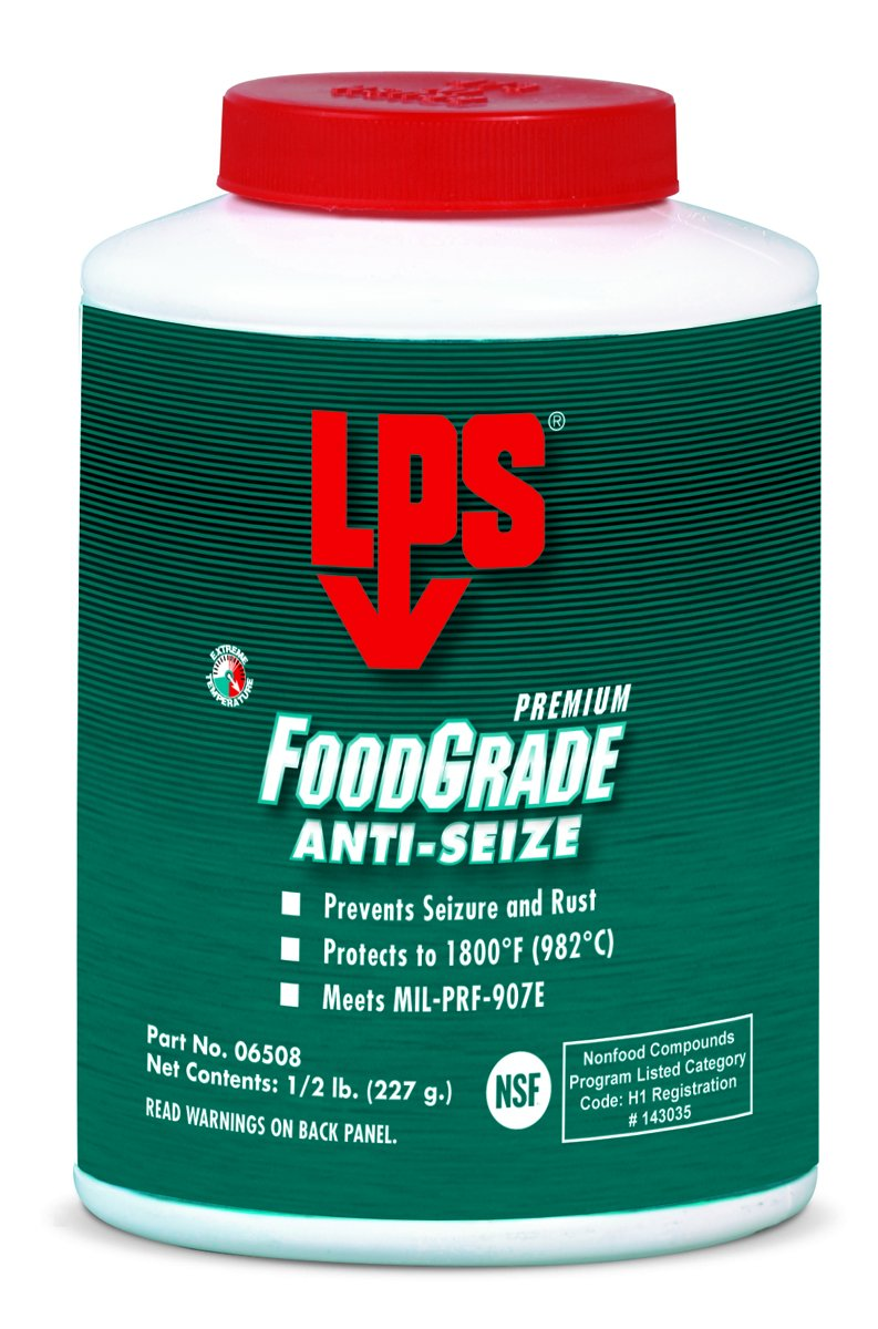LPS Food Grade Anti-Seize, 0.5 lbs (Pack of 12)
