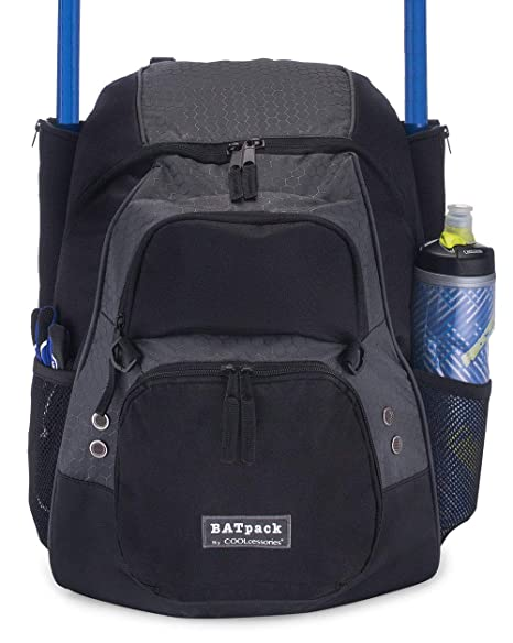 475195105585 Amazon.com   COOLcessories Bat Bag Backpack - A Bat Bag That Fits ...