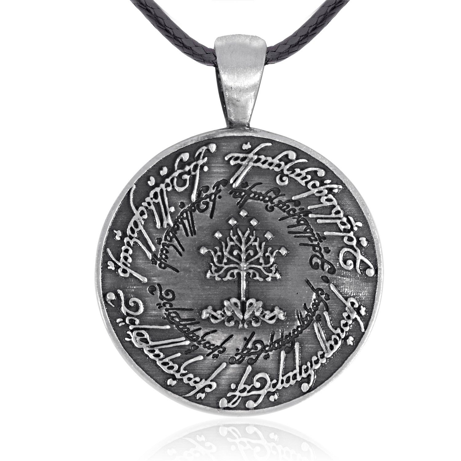 Dan's Jewelers Tree of Gondor Pendant Necklace, Fine Pewter Jewelry