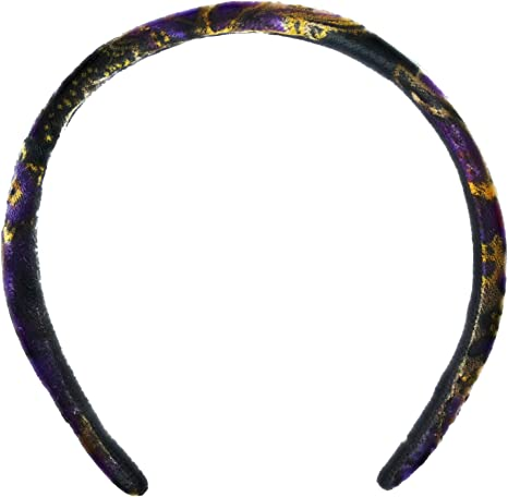 Zac/'s Alter Ego 29mm Multicolour Retro Vintage Printed Aliceband