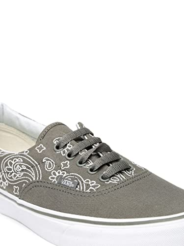 2ac0915900 Vans Men Grey Embroidered Era Casual Shoes (9)  Buy Online at Low ...