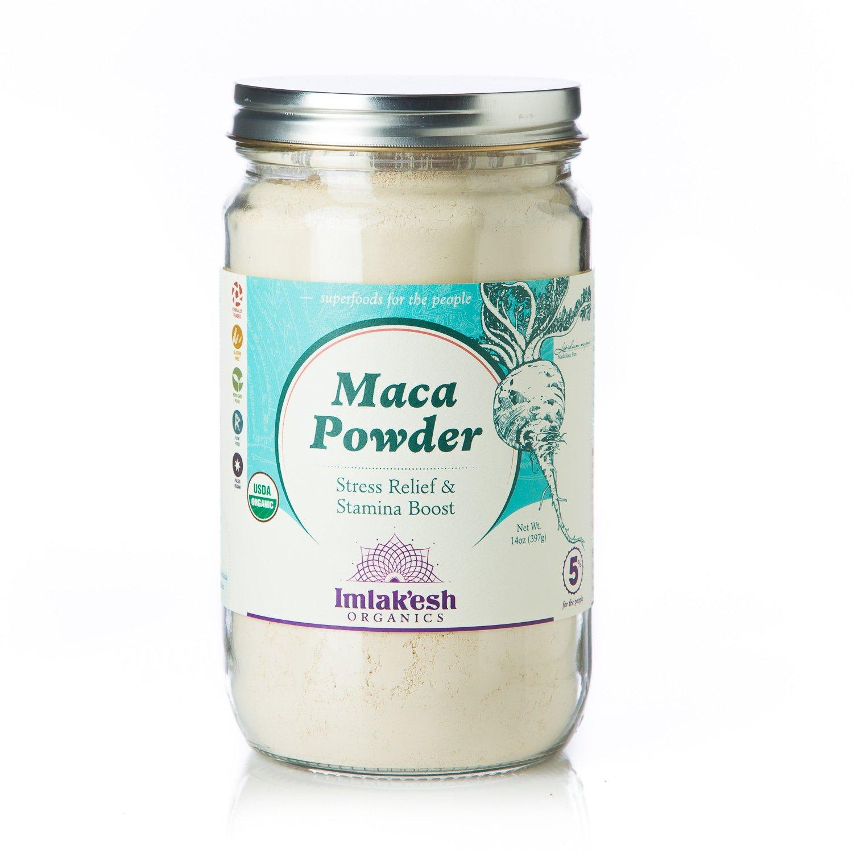 Imlak'esh Organics Maca Powder, 14-Ounce Jar