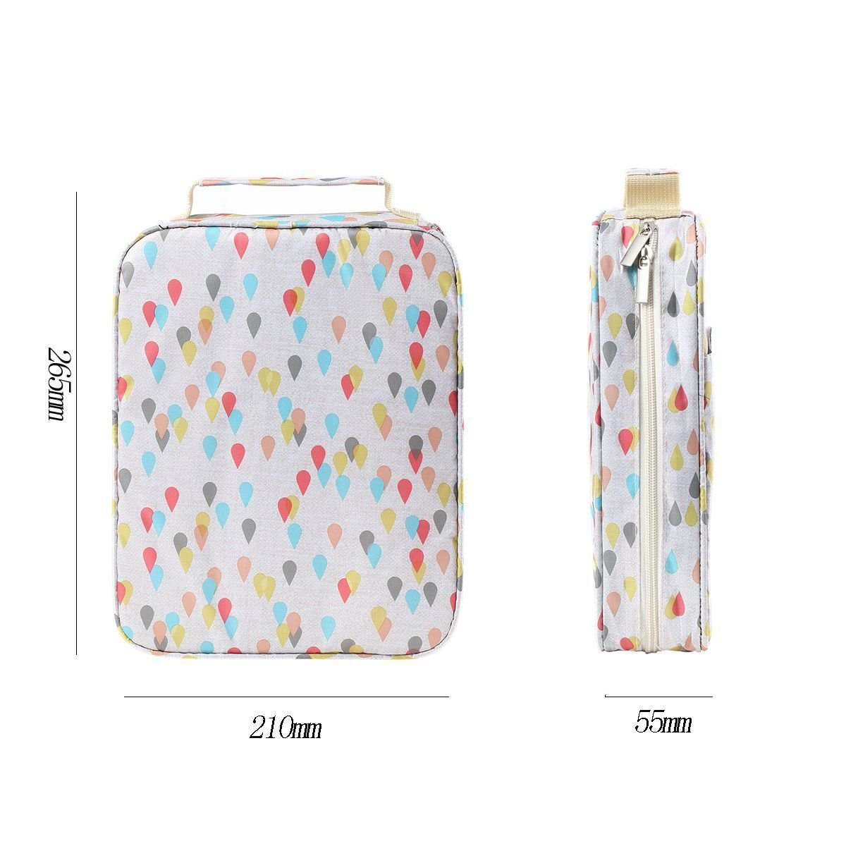 Nrpfell 150 Slots Colored Pencils Universal Pencil Bag Pen Case School Stationery PencilCase Drawing Painting Storage Pouch Pencil Box by Nrpfell (Image #7)