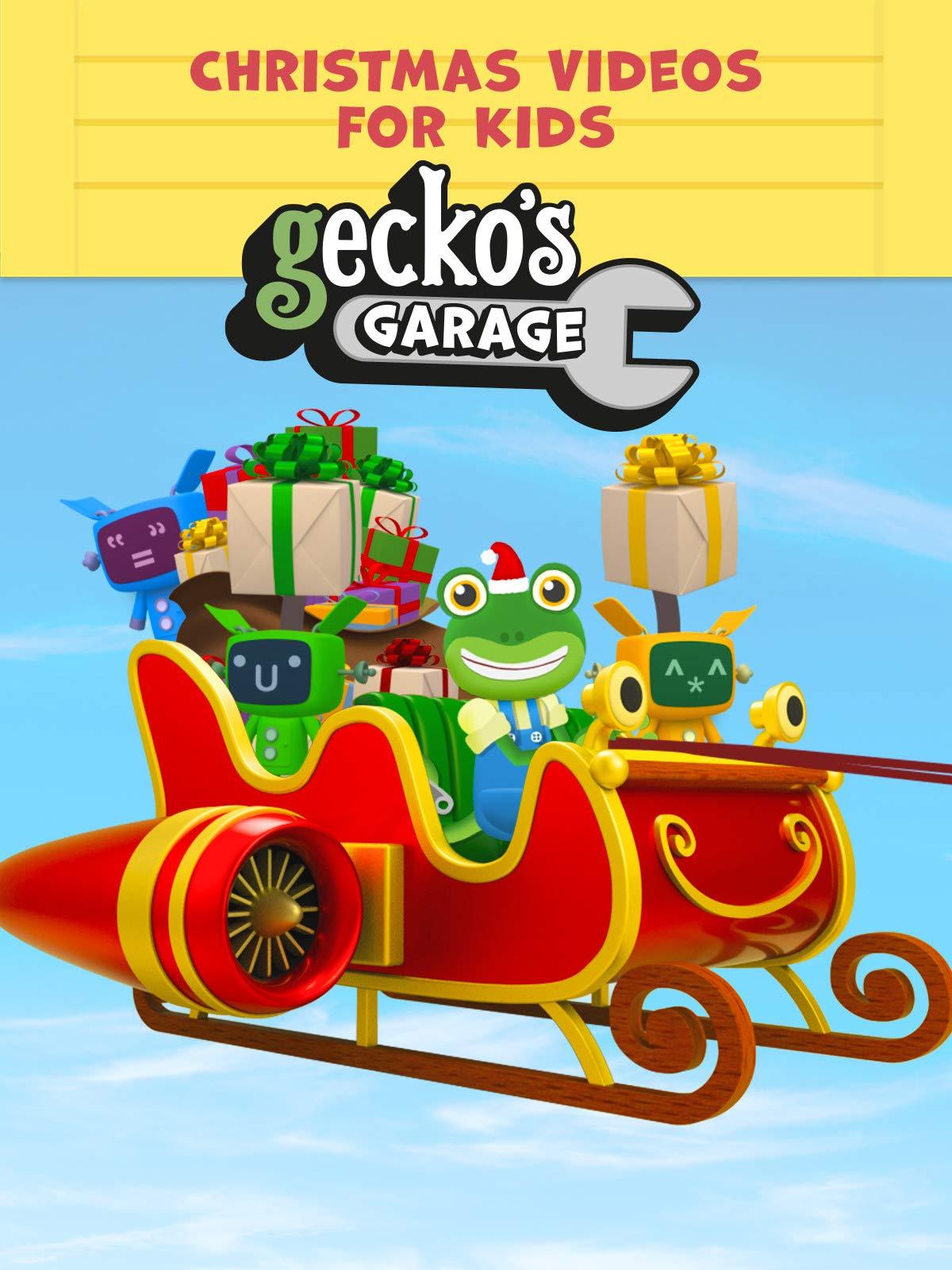 Gecko's Garage - Christmas Videos for Kids on Amazon Prime Video UK