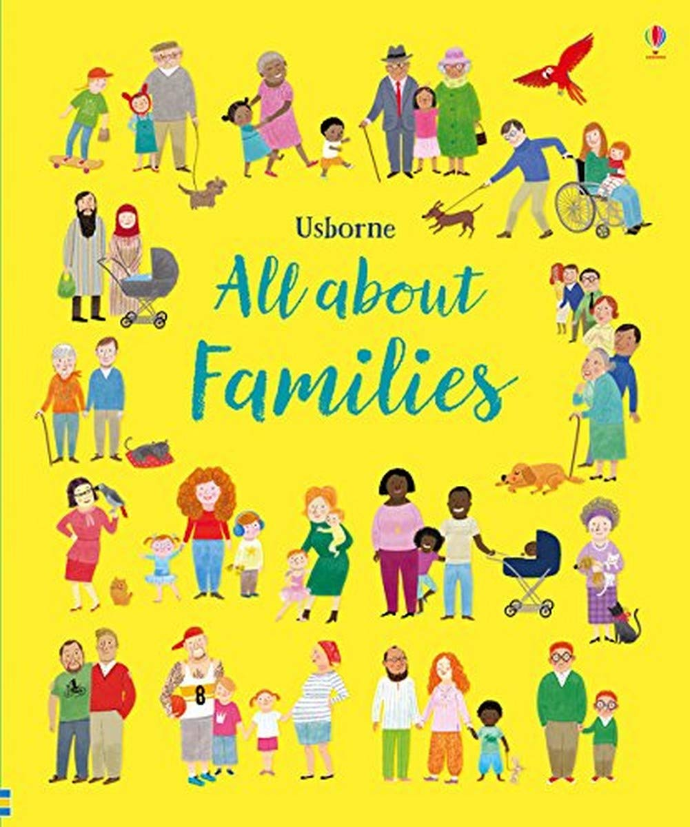 All About Families (My First Book): Amazon.co.uk: Felicity Brooks, Mar  Ferrero: 9781474949071: Books