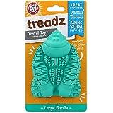 Arm & Hammer Super Treadz Gator & Gorilla Chew Toy for Dogs | Best Dental Dog Chew Toy | Reduces Plaque & Tartar Buildup With