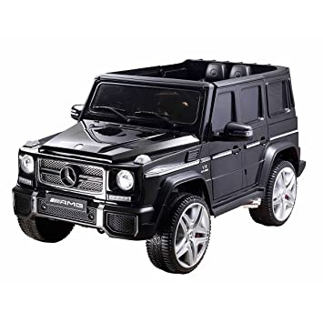 codex europe mercedes benz g65 amg licenced electric kids ride on car