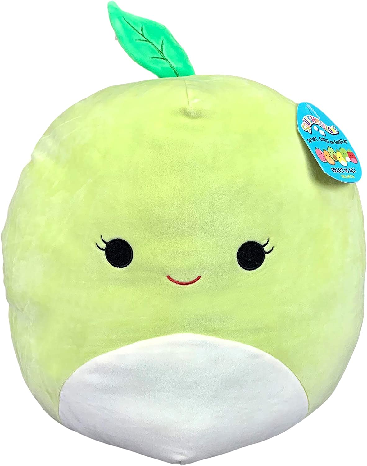 Squishmallow 16in, Ashley The Apple,Stuffed Animal, Super Pillow Soft Plush Toy, Green