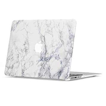 Amazon.com: Macbook Air 13 Case, GMYLE Hard Case Print Frosted for ...