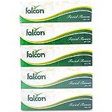 Falcon Facial Tissue, 140 Sheet x 2 Ply - 5 Boxes