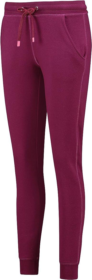 Hunkem/öller Femme Pantalon de Jogging Velours