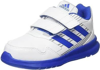 adidas Baby Boys' AltaRun Shoes, Footwear White/Blue/Mid Grey, 24-36 months (24-36 months)
