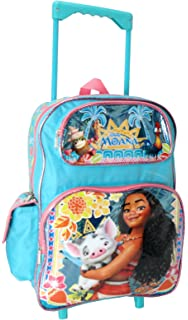 Mochilas Escolares 16 Pulgadas Grandes Para Niñas Moana Girls Backpacks New 2019