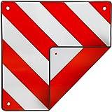 coverandcarry Aluminium Motorhome Rear Warning Sign 50cm x 50cm