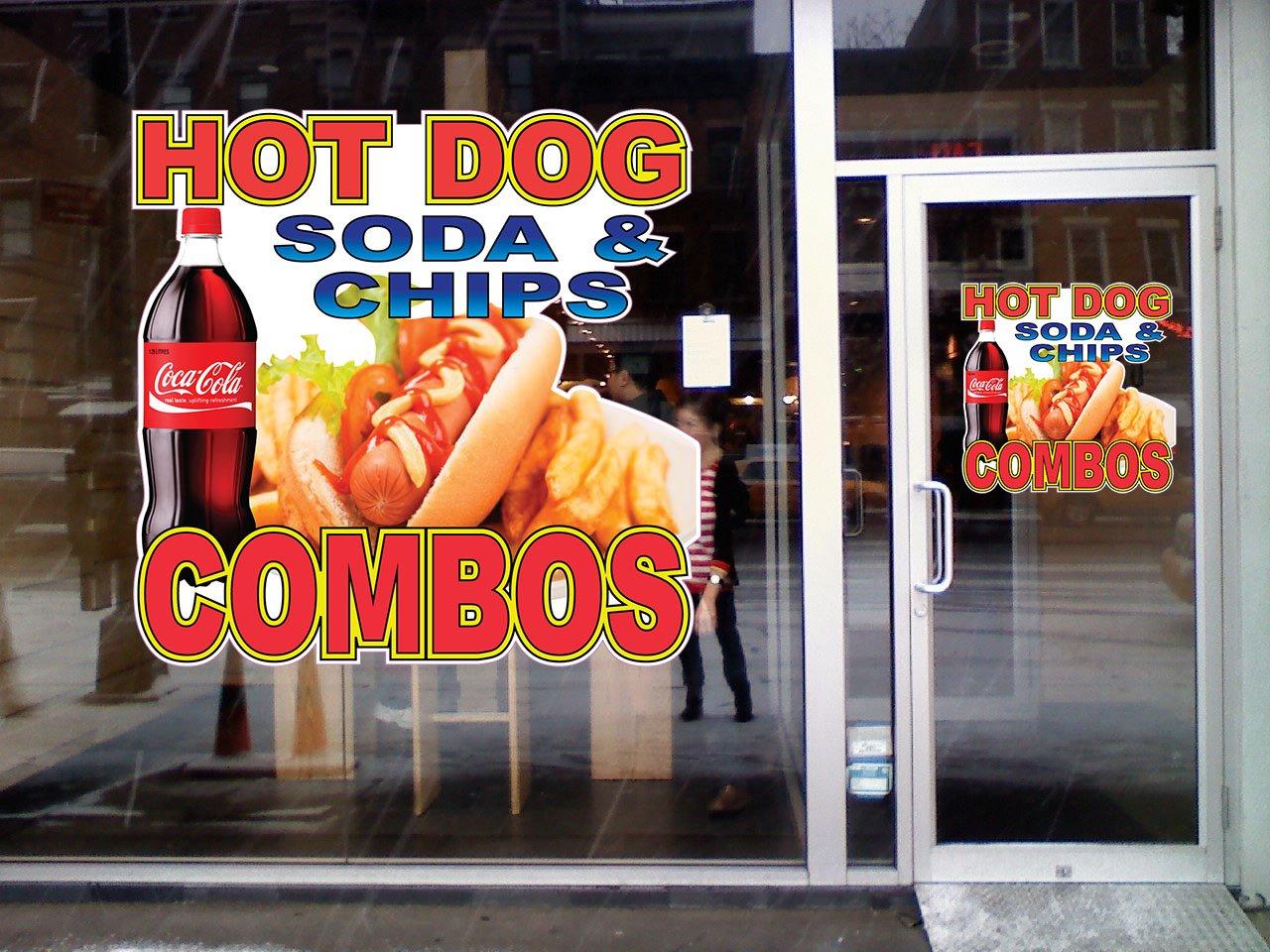 Amazoncom Hot Dog Soda Chips Combo Concession Restaurant Food