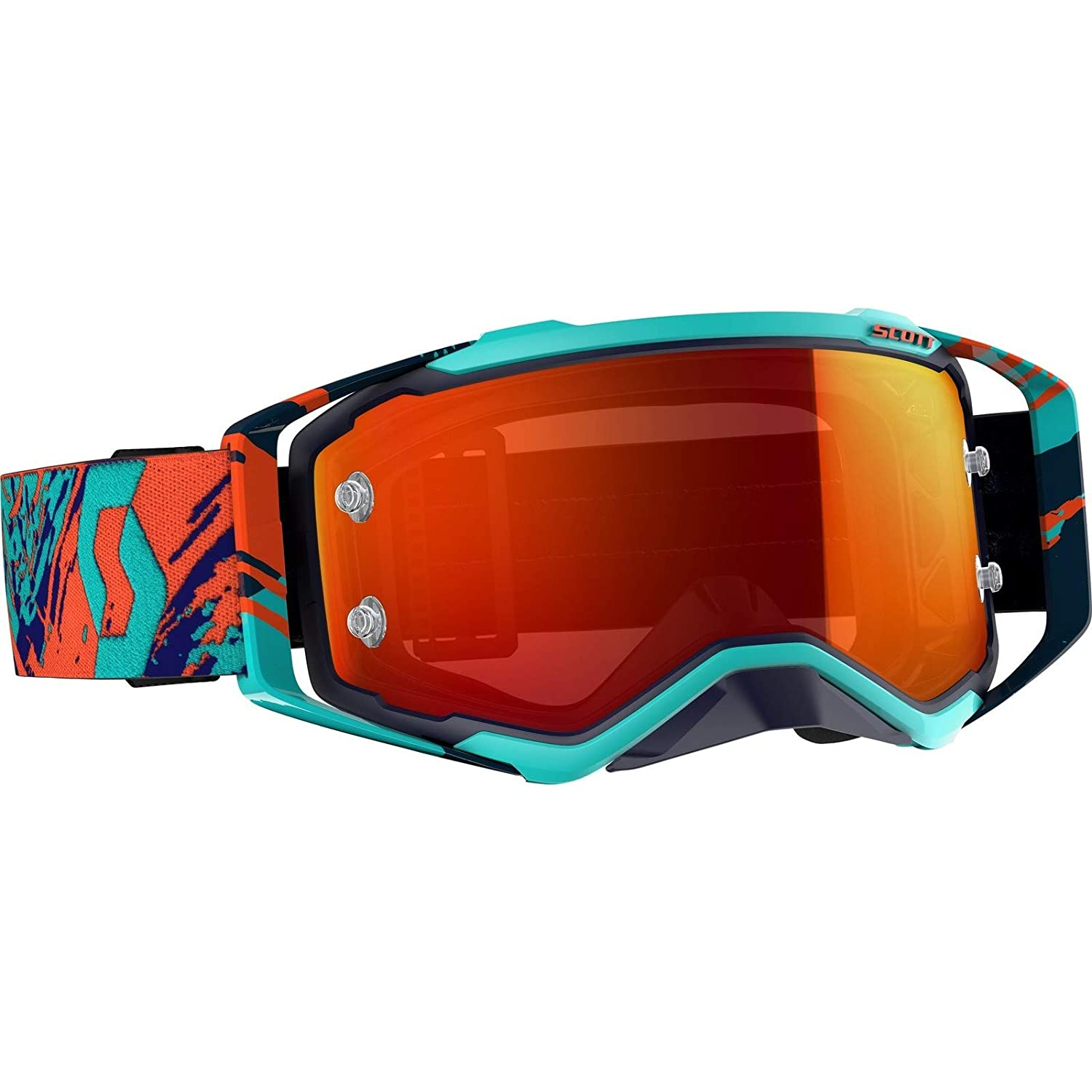 Masque Cross SCOTT Prospect Blue Orange Orange Chrome Works