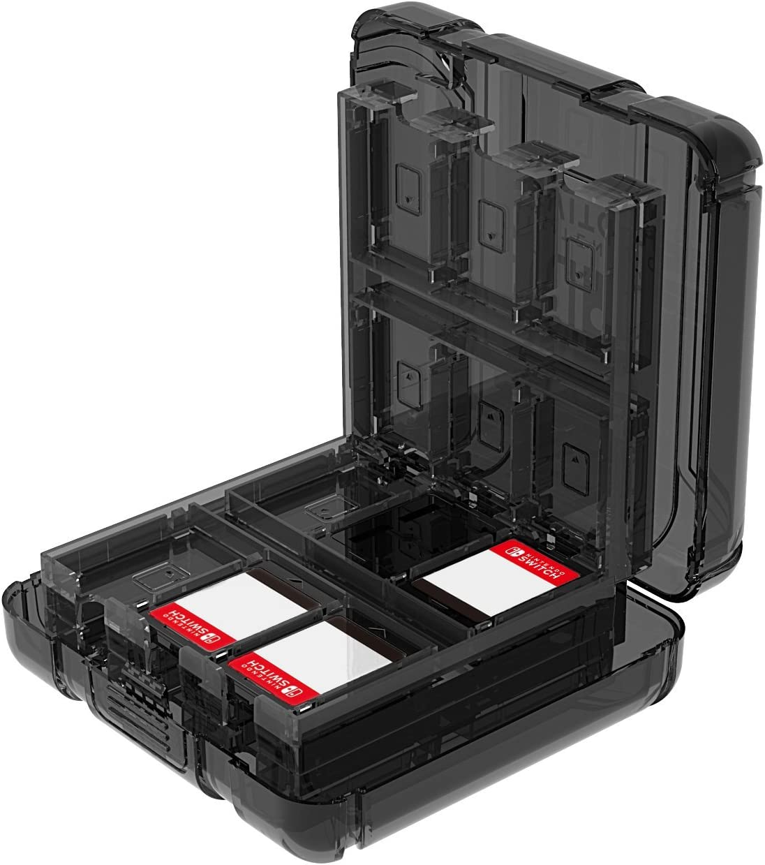 Amazon.com: Nintendo Switch Deluxe Game Case For Up to 24 ...