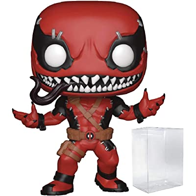 Marvel: Contest of Champions - Venompool Funko Pop! Vinyl Figure (Includes Compatible Pop Box Protector Case): Toys & Games