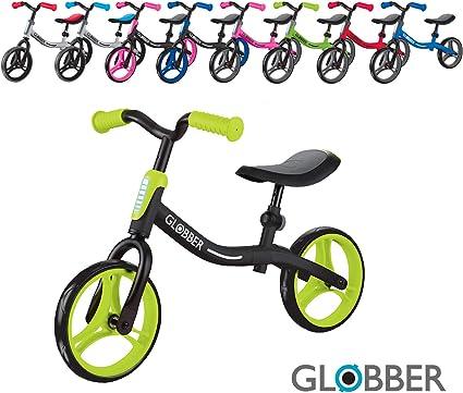 4 Wheel Toddler Balance Bike No Pedal Bicycle Kids Ride On Scooter Gift UK C