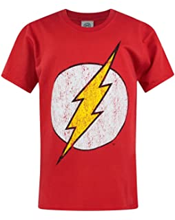 670e260b4 Logoshirt Kids Shirt DC Flash Logo Camiseta para Niños  Amazon.es ...