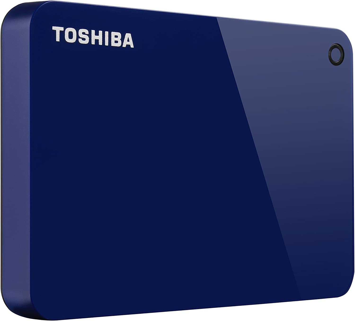 Toshiba (HDTC910XL3AA) Canvio Advance 1TB Portable External Hard Drive USB 3.0, Blue