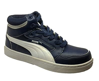 ... official store puma mens rebound insignia blue and white casual sneakers  7 uk india 40.5 467e4 e3d3033e7