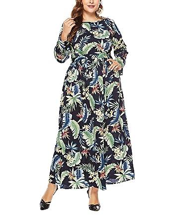 Vestidos de Mujer, Tallas Grandes Vestido Verano Casual Ajustados ...