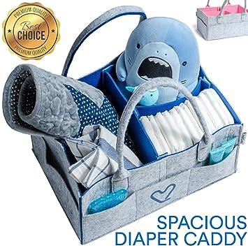 Amazon.com: [DadsLove] Cesta para pañales de bebé: Baby