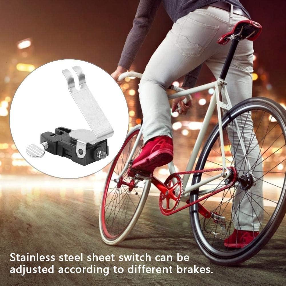 Pasamer Durable LED Rojo Ciclismo Luz de Freno en Forma de V para ...