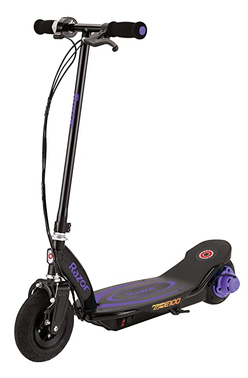 Razor Kid s Powercore E100 patinete eléctrico, color morado
