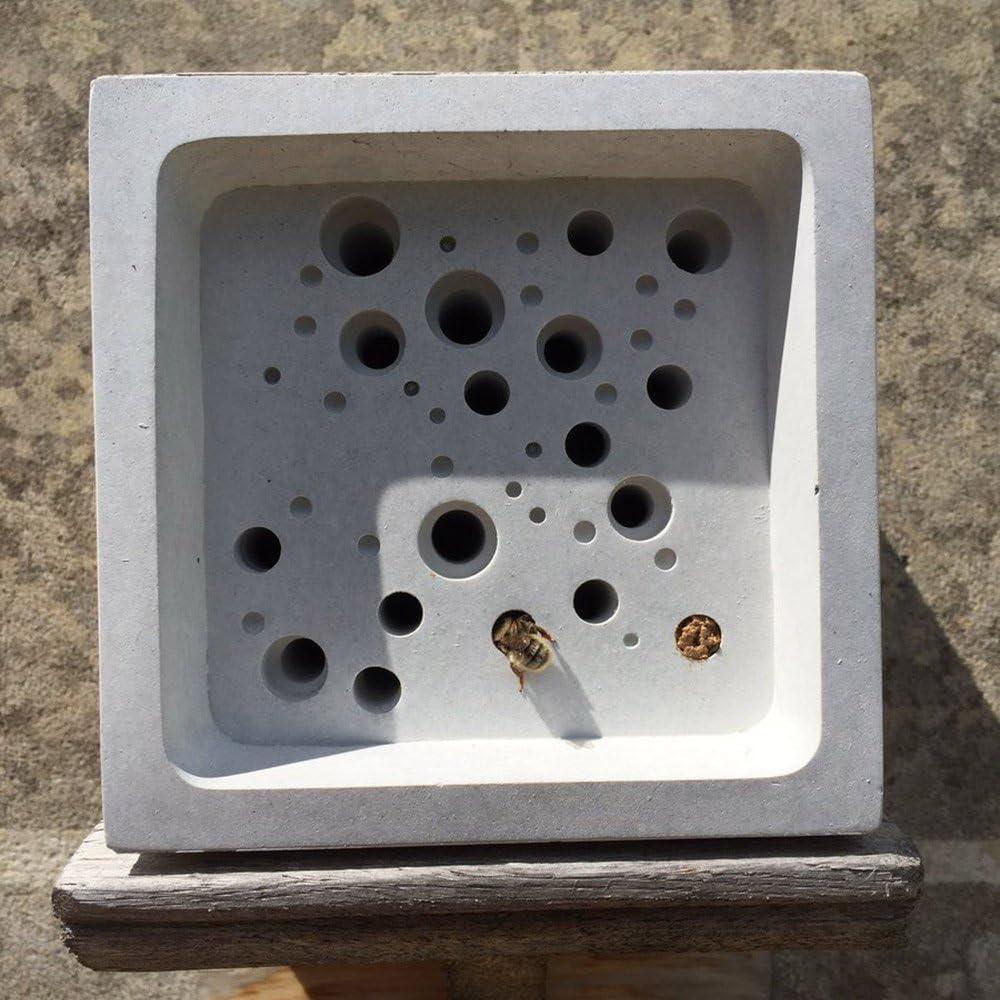 Colmena para abejas en forma de bloque, tamaño grande, 10,5 x 10,5 ...