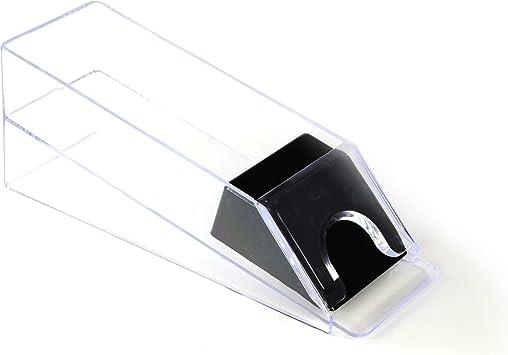 Nexos Profi Kartengeber Kartenschlitten Dealer Shoe 1 6 Decks transparenter Kunststoff Casino Poker Zubehör für Poker oder Black Jack