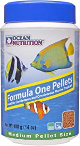 Ocean Nutrition Formula One Pellets 14-Ounces (400 Grams) Jar - Medium Pellet Size