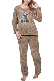 Santoro Pijama Manga Larga The Foxes para Mujer