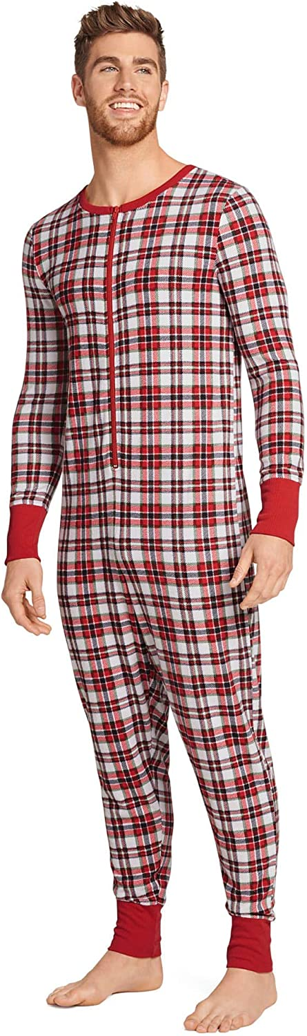 Jockey Men's Underwear Fam Jams Unisex Union Suit
