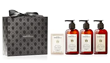 Wisteria and Jasmine Collection Gift Box, Luxury Set for Men and Women including Bar Soap