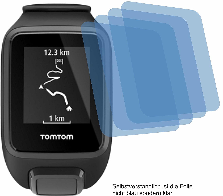 Radsport 2x Displayschutzfolie Matt für Polar V650 Schutzfolie Displayfolie Folie