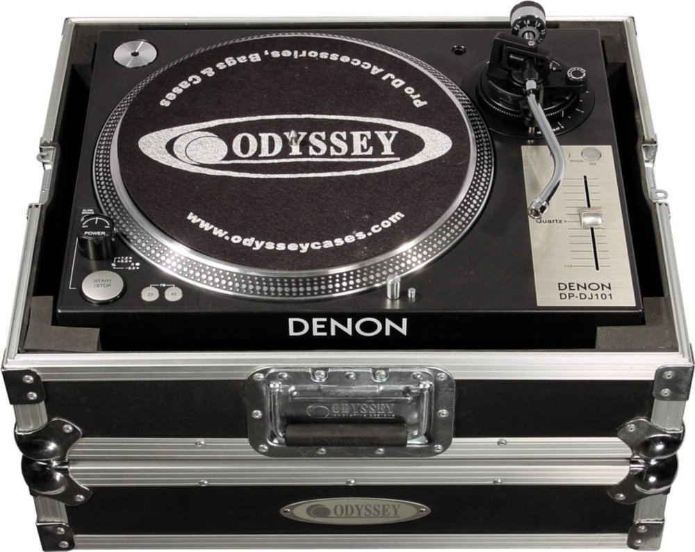 Amazon.com: Odyssey ITF Single Turntable Flite Case, Diamond ...