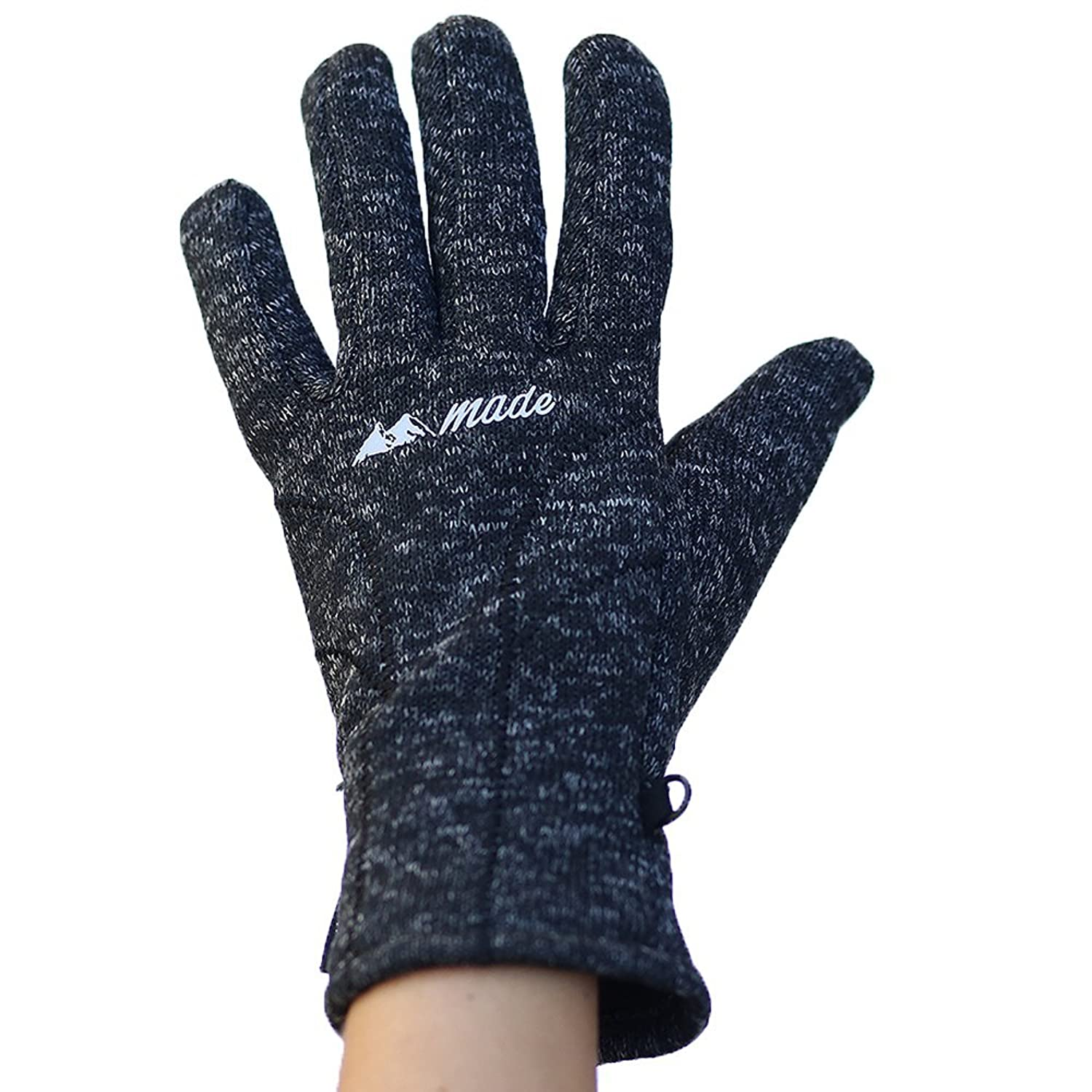 Mountain Made Knit Gloves For Men and Women