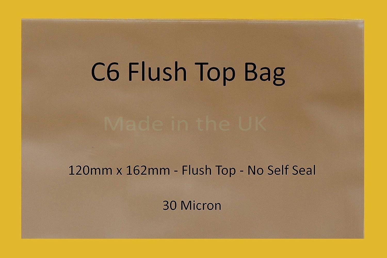 Flush Top C6-120 mm x 162 mm mm mm – Cello Klarsichthüllen 30 Mikron – keine selbstklebende Klappe B07FCMBN3L | Deutschland Berlin  | Günstigen Preis  | Elegant Und Würdevoll  1726e2
