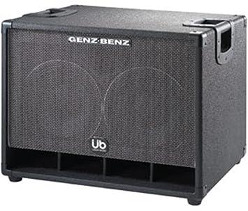 Genz Benz Uber Bass Gb210t Ub 2 X 10 Inches Bass Amplifier Cabinet